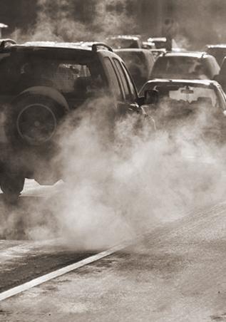 Смог, выхлопные газы