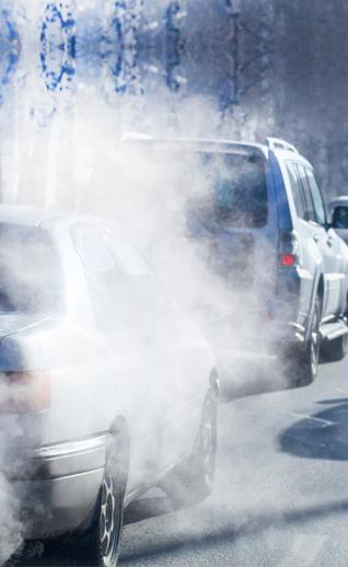 Устали от запаха смога, выхлопных газов, табачного дыма?